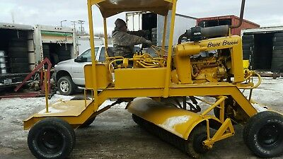 Broce broom street sweeper  gas ford  6 cylinder