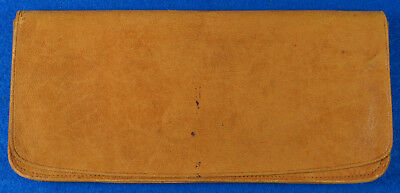 Early 1900's Sewed B.B. Warranted English Finish Soft Leather Wallet Super Soft!