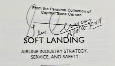 Signed By Apollo 17 Cmdr Gene Cernan And Andrew Thomas