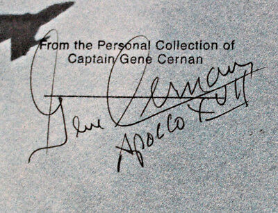 Signed By Apollo 17 Cmdr Gene Cernan And Authors