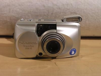 Olympus All Weather Stylus Epic Zoom 170 35mm film Point n Shoot camera FREESHIP