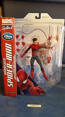 Marvel Select The Amazing Spider-Man 2 Unmasked Disney Store Exclusive