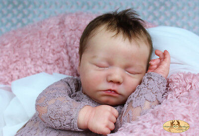 "Reborn Doll Kit ""realborn Sleeping Zuri 18"" (Unpainted)"