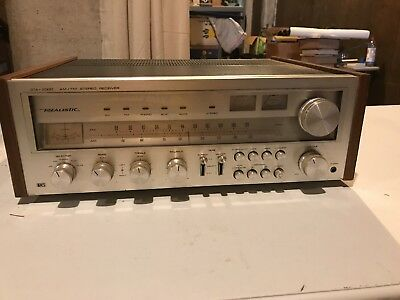 VINTAGE REALISTIC STA-2000 AM/FM STEREO RECEIVER amplifier 1978 parts