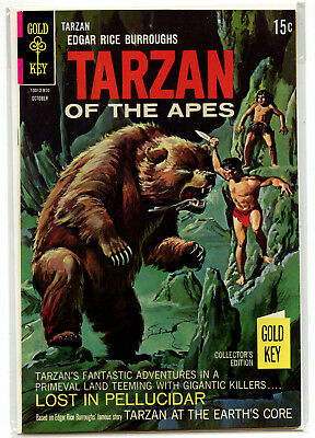 JERRY WEIST ESTATE: TARZAN OF THE APES #180 (Gold Key 1968) VF condition