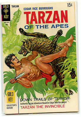 JERRY WEIST ESTATE: TARZAN OF THE APES #183 (Gold Key 1969) VF condition