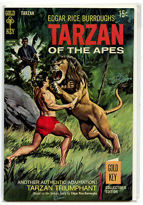 JERRY WEIST ESTATE: TARZAN OF THE APES #184 (Gold Key 1969) VF condition