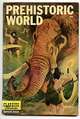 Jerry Weist Estate: Classics Illustrated Special #167A Prehistoric World Vg