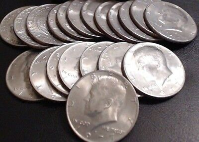 1977 P & D Set of Kennedy Half Dollars ~ 2 Coin Lot ~ FREE Shipping!