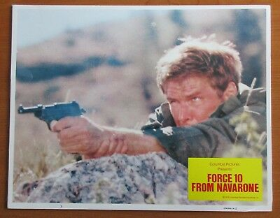 FORCE 10 FROM NAVARONE  (1978) - Set of Original Lobby Cards - Harrison Ford