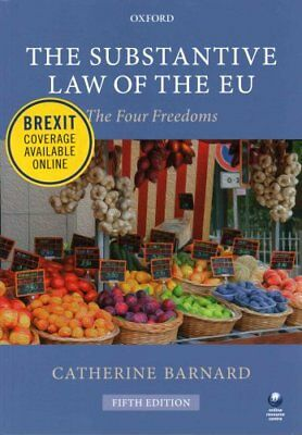 The Substantive Law of the EU The Four Freedoms 9780198749950 (Paperback, 2016)