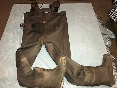 Red Head  Bone brown Dry Waders 200 g Thinsulate boys youth Size 3