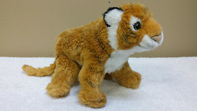 "12"" Vintage 1994 Plush Tiger, Toy, Stuffed Animal, The Petting Zoo"