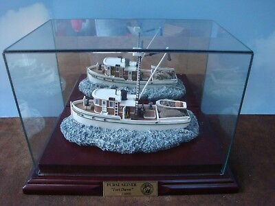 "Purse Seiner ""Tori Dawn"" Model Boat by Anchor Bay with COA #AB 108S BOX"