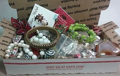 Estate Vintage to Now Large Lot of Costume Jewelry