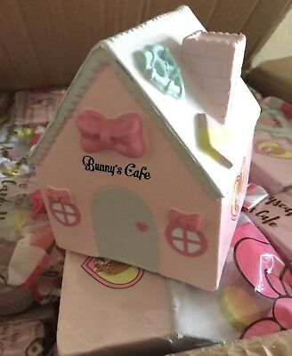 Bunny's Cafe Bunny's Candy House Jumbo Rare Licensed Squishy