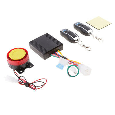 1 Set Universal Anti-theft Alarm Security System for Motorcycle Bike Scooter