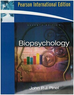 Biopsychology: International Edition by Pinel, John P.J. Paperback Book The