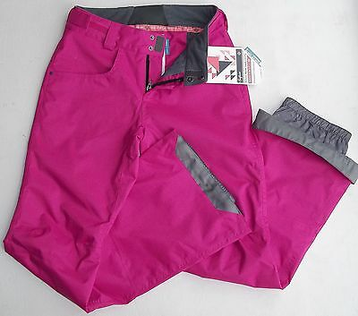 Surfanic Pine Ladies Extra Small 8 10000R Snowboard Ski Pants Salopettes Pink