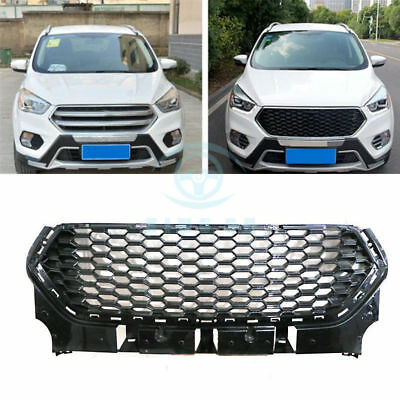 front bumper grille upper grill for ford escape raptor. Black Bedroom Furniture Sets. Home Design Ideas
