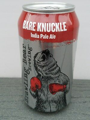 CRAFT MICRO Beer Can Brawling Bear Brewing Upper Marlboro, MD Bare Knuckle IPA