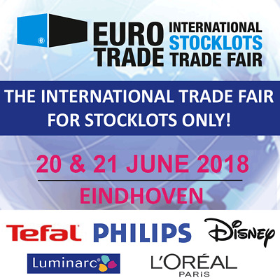 Free tickets! International stocklots trade fair Eindhoven, Netherlands!