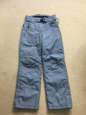 Ladies Ski Trousers  Size Small Salopettes Snow Pants Cold Heat Thermal Trespass