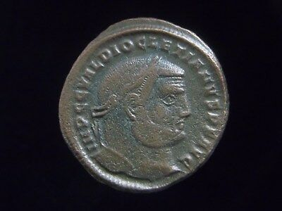 Large Follis of Roman Emperor Diocletian 284-305 AD  CC8551
