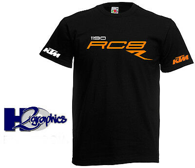 New Mens KTM 1190 RC8 T-Shirt Sizes Small to 3XL Choice Of Colours