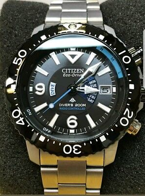 STORE DISPLAY CITIZEN Promaster Radio Controlled Dive Eco-Drive BY2000-55E