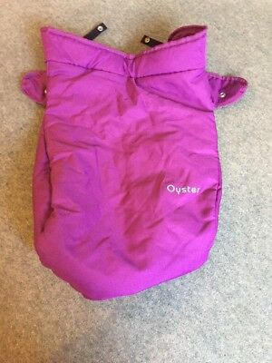 Babystyle Oyster Apron / Footmuff - Purple Grape - New