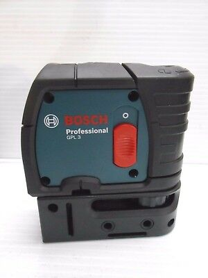 3 Point Self Leveling Laser Level Bosch GPL3 Used