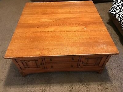 LEXINGTON BOB TIMBERLAKE MISSION STYLE Arts Crafts COFFEE TABLE
