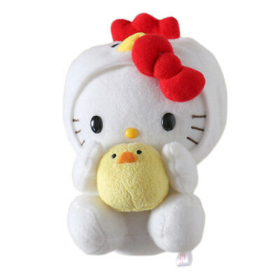 YAKULT Sanrio Hello Kitty Cosplay Chick W/T Little Baby Plush Doll Toy 7.8""