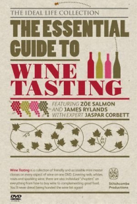 The Essential Guide To Wine Tasting  DVD NEW