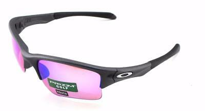 New Oakley Sunglasses Youth Quarter Jacket Steel w/Prizm Golf #9200-1961 In Box
