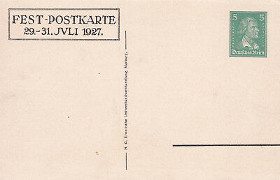 Postal Stationery/Privatganzsache PP101/C5/01: PHILIPPS-UNIVERSITÄT MARBURG