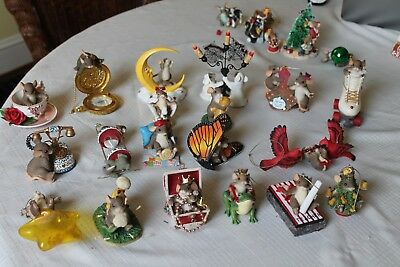 "19  Large ""Charming Tails"" Christmas Ornaments"