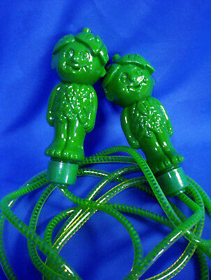 """Vintage Advertising Jolly Green Giant """"sprout"""" Toy Jump Rope  Taiwan New"""