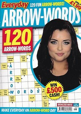 Arrow word Books - 3 Book set - 360 Puzzles - New (Set 165)