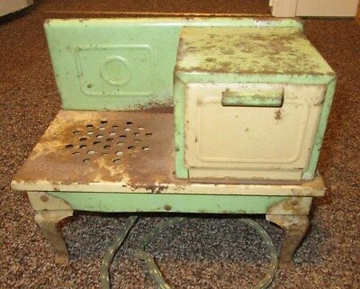 vintage antique kids electric stove oven 20s? 30s? Kingston Products