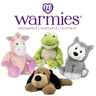 Intelex Warmies Cozy Plush Heatable Lavender Scented Stuffed Animal