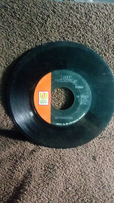 Ray Sanders 45 Vinyl Rpm Judy & The Wild Side Of Life Ua 50732S Guc