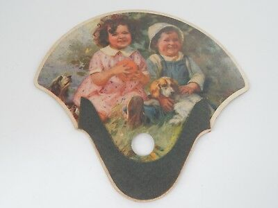 Children and Dog Hand Fan Jacksonville Ice & Cold Storage