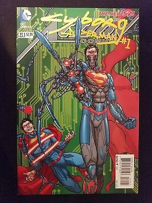DC Action Comics, Vol. 2 # 23.1 (1st Print) Cyborg Superman 2D Regular Cover