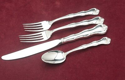Rondo by Gorham Sterling Silver individual 4 Piece PLACE SIZE Setting