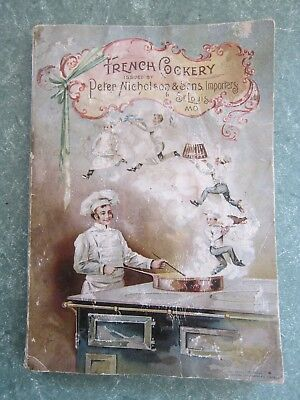 1893 La Cuisine Francaise French Cooking for Every Home by Francois Tanty 160pgs