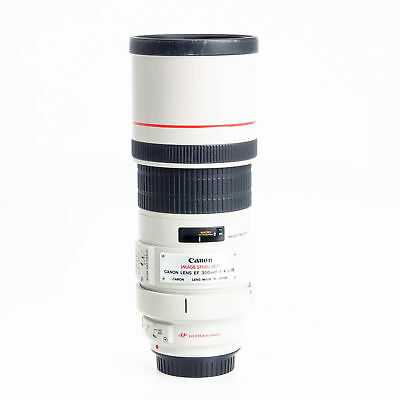 Canon EF 300mm F4 L IS Image Stabilized Telephoto Lens