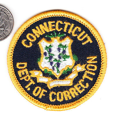Police Patch Connecticut Department Of Corrections Conn
