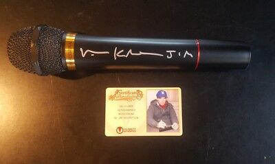 Val Kilmer The Doors Jim Morrison Signed Autographed Microphone CA COA AUTHENTIC